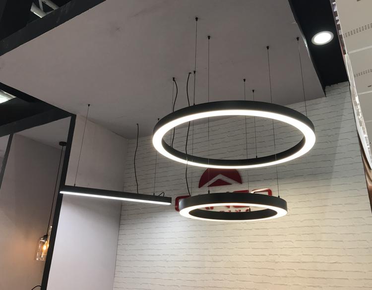 Circular LED Light Ring in lighting fair