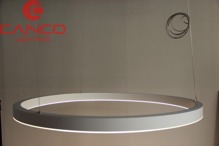 Large Circular Pendant Light