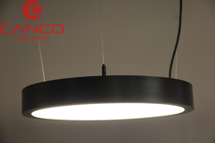Circle Pendant Light Fixture in hanging