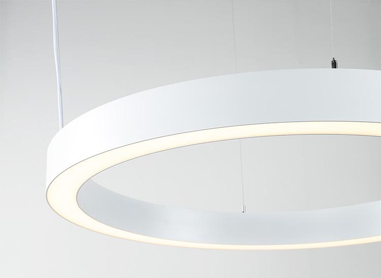 Circular Light side view