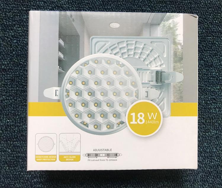 square led panel light box