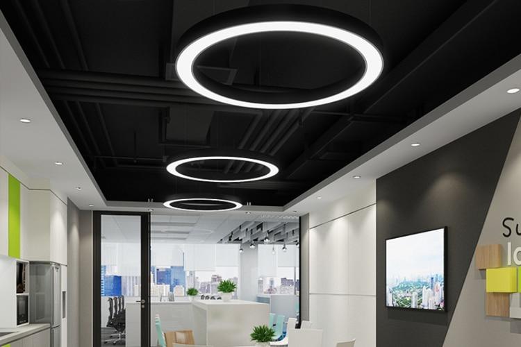 circle hanging light