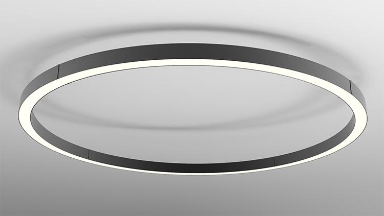 Large Round Pendant Light