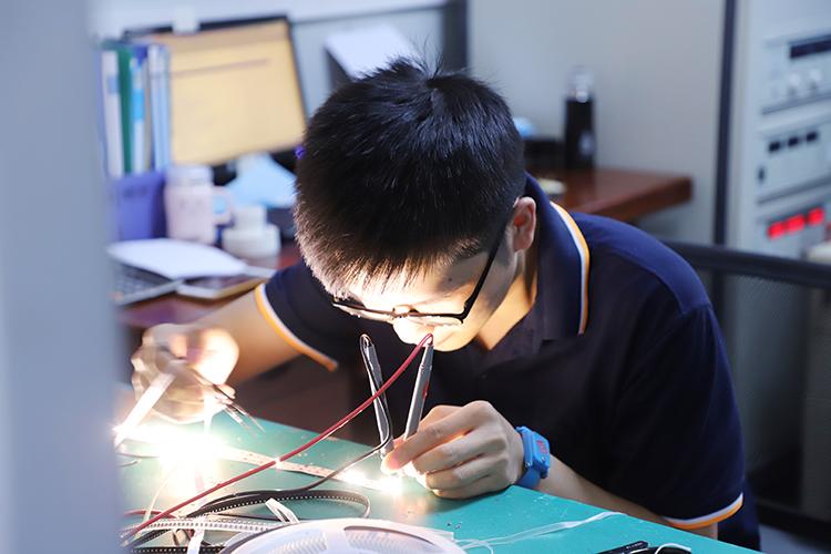 24V LED Strip Light testing