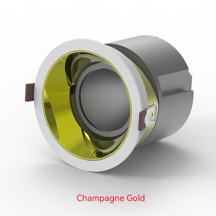 Champagne gold LED Down Lights