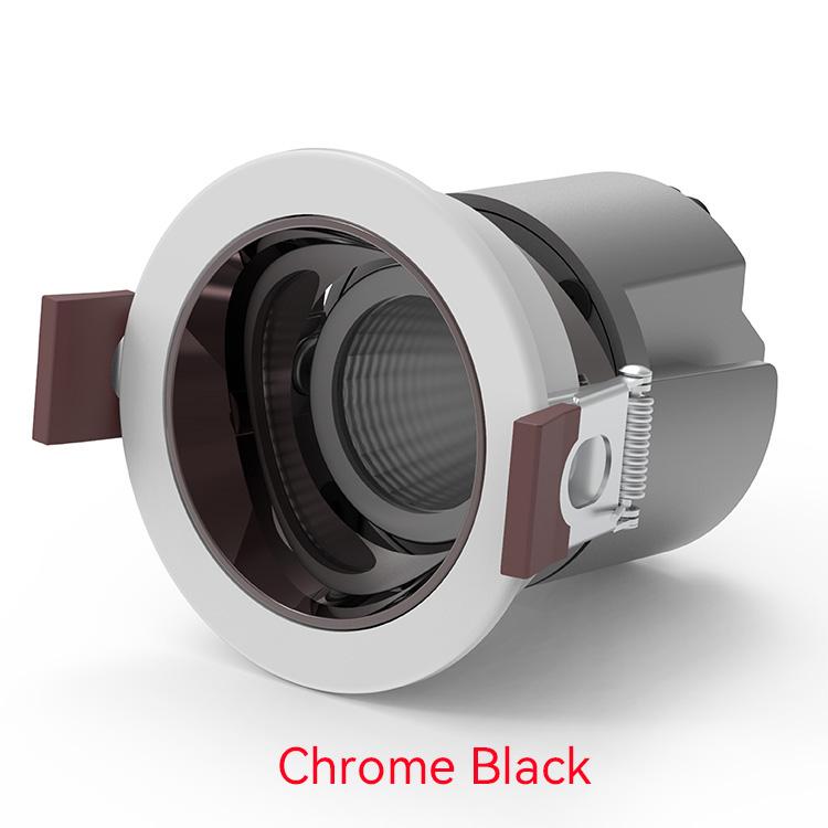 Chrome black LED Down Lights