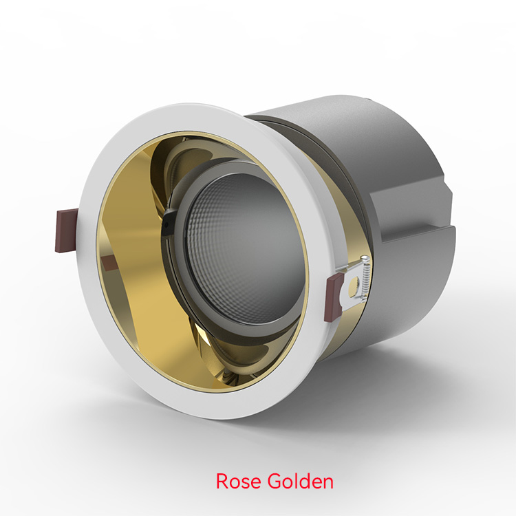 Rose Golden LED Down Lights