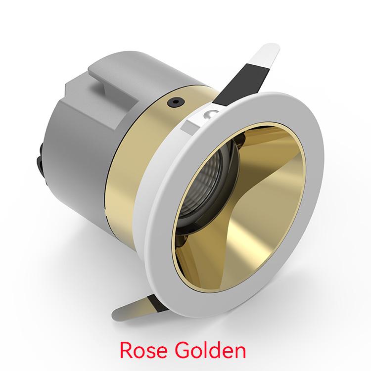 Rose Golden Best Downlights For Bedroom