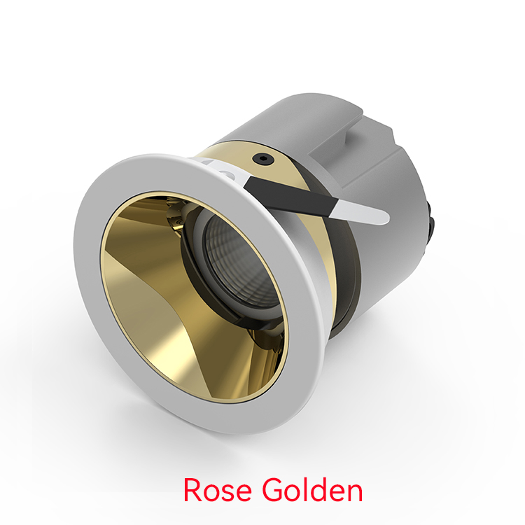 Rose Golden LED Wall Washer Downlight
