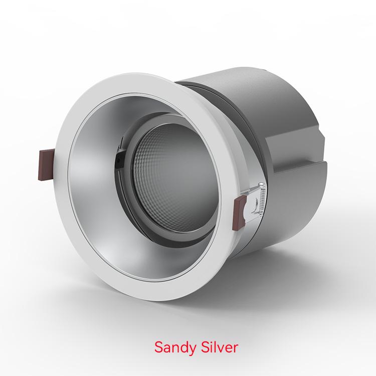 Sandy Silver LED Down Lights