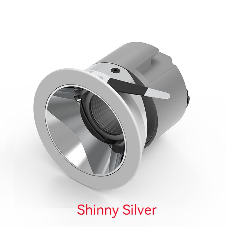 Shinny silver LED Wall Washer Downlight