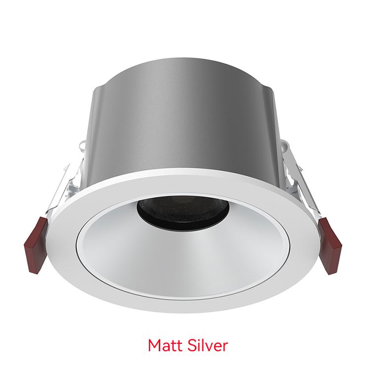 matt silver LED Down Light