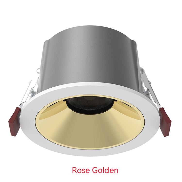rose golden LED Down Light
