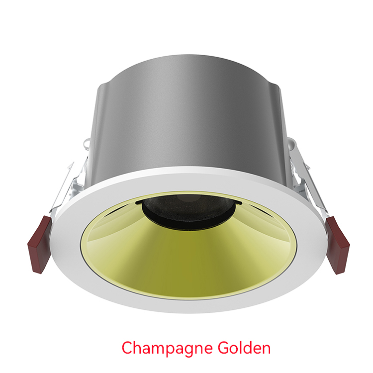champagne golden LED Down Light