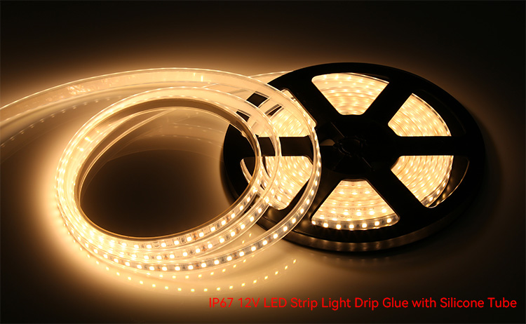 ip67 12 volt waterproof led strip lights